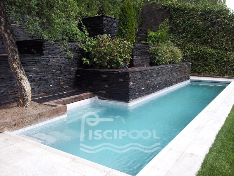 Piscinas con gresite verde amazing piscinas con gresite for Gresite para piscinas