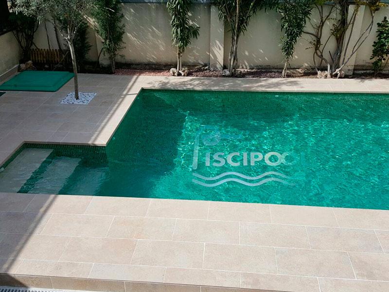 Gresite piscinas colores awesome construccin piscina for Gresite para piscinas